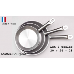 Poêle inox Matfer Bourgeat Performance