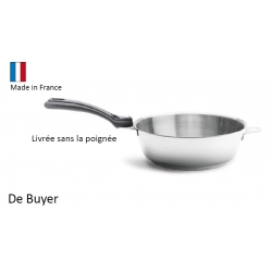 Sauteuse bombée De Buyer - Twisty 24 cm
