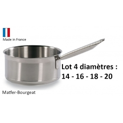 Lot 4 casserole Bourgeat Tradition