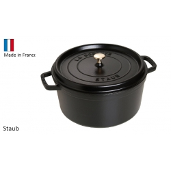 Cocottes rondes Staub