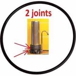 Joints pour filtre inox sur évier