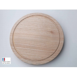 Planche en bois mono-bloc ronde D 30 cm