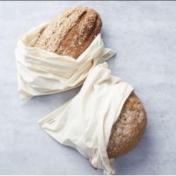 Sac à pain en coton bio