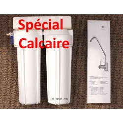 Filtre sous évier Hydropure + sédiments + calcaire