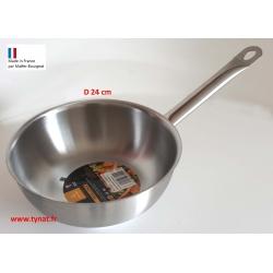 Sauteuse wok d 24 cm