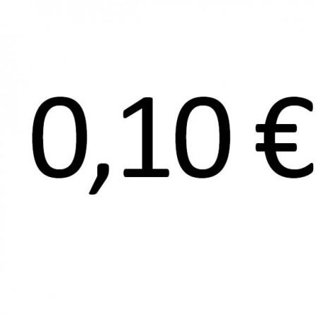 x 0,10 €