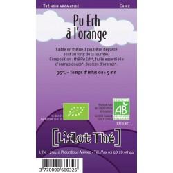 Pu Erh à l'orange. 100 g