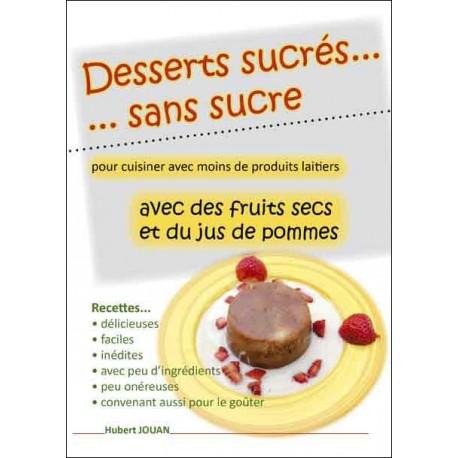 Desserts sucrés sans sucre