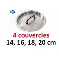 Lot 4 couvercles Bourgeat