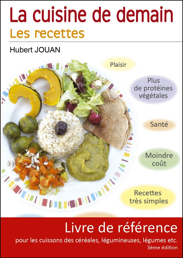 Livre La Cuisine De Demain Hubert Jouan