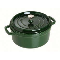"Cocottes rondes Staub ""Basilic"""