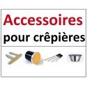 Accessoires pour crêpières