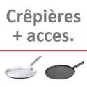 Crêpières + acces.